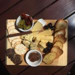 The cheese platter