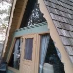 chalet front porch