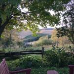 Vue de la vallée (rivière en contrebas)