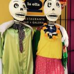 El Dia de Los Muertos decorations
