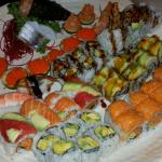 tons of sushi to order