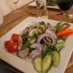 Delicious mixed salad
