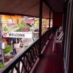 Duplex double with balcony overlooking the garden