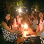 Party @warung lais lovina nice places