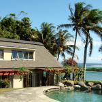 Villa overlooking the South Pacific