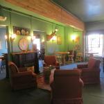 Hot Lake Springs, La Grande OR - first floor lounge area