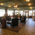 Hot Lake Springs, La Grande OR - first floor solarium area