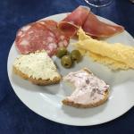 Delish Tuscan plate