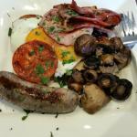Substantial breakfast!