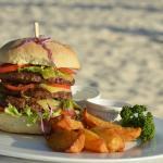 Triple burger, 100% US beef