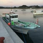 釣り体験の船