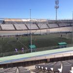 Тренировка на стадионе