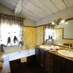 salle de bain chambre Boisée