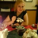 Me and my delicious dessert