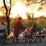 Campfire at Nairobi Tented Camp