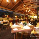 La Terraza de Tita. A un costado del Restaurant.
