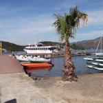 Ferry arriving for trip to Marmaris