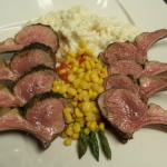 Rack of Lamb with Parmigianno-Reggiano Risotto