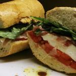 Italiano panini on brooklyn Italian bread