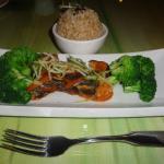 Seaweed Tofu Rolls in Tom Yum Sauce