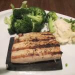TGI Friday's - Arlington, TX (Mahi Mahi, Broccoli and Mashed Potatoes Meal)