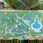 Карта Сиам-парка