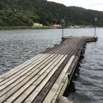 Nearby jetty