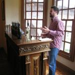 Private tasting at the Ledson Winery