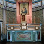 The Alter, within the Cataldo Mission...precious, designed by the Jesuit Priest