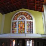 Choir loft windows