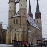 Marktkirche, Motiv wurde auch von Caspar David Friedrich verwendet