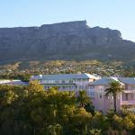 Hotel with Table Mountain background