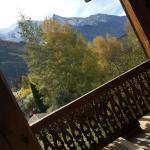 Vue du balcon Suite Martine
