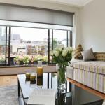 Penthouse Living Room / Balcony