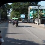 The main road at the hotel