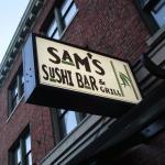 Sam's Sushi Bar, Ballard, Seattle, Nov. 3, 2015
