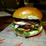Beef and Haloumi Burger