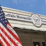 Old Glory and The Buffalo Mercantile Company!