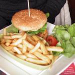 Ch'ti burger au maroilles