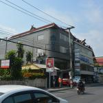 Hostel from across the road