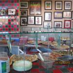 Pizza selection in L'osteria Mondello Italian