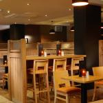 Killyhevlin Lakeside Hotel and Chalets newly refurbished Grill Bar dining area