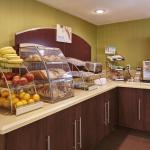Our breakfast bar offers both hot and cold option