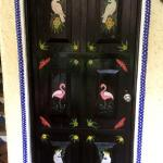 Mexican designs on all doors