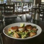 Famous Sea Scallops w/ Shrimp