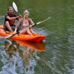 Canoeing on the Sundays River at Umlambo