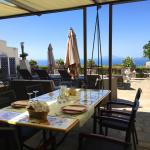 Table Setting with Beautiful Panoramic Views of Sorrento Peninsula
