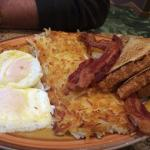 We like a place with an all day breakfast--bacon is delicious!