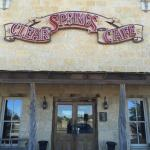 Clear Springs Cafe resmi