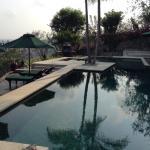 Villa Jepun - private pool with panoramic views